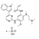 甲磺酸奥斯替尼结构式