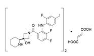 [3,4-二氟-2-[(2-氟-4-碘苯基)氨基]苯基][3-羟基-3-(2S)-2-哌啶基-1-氮杂环丁基]甲酮