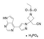 Baricitinib phosphate结构式