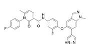 Merestinib结构式