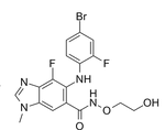 Binimetinib结构式