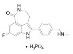 Rucaparib Phosphate结构式