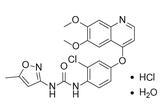 Tivozanib Hydrochloride Hydrate结构式