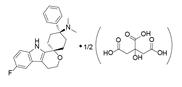 Cebranopadol hemicitrate结构式