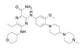 Gilteritinib结构式